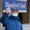Padraig Campion at Blandford Stud <br /> Keeneland January Sales at Keeneland near Lexington, Ky., on Jan. 10, 2021.