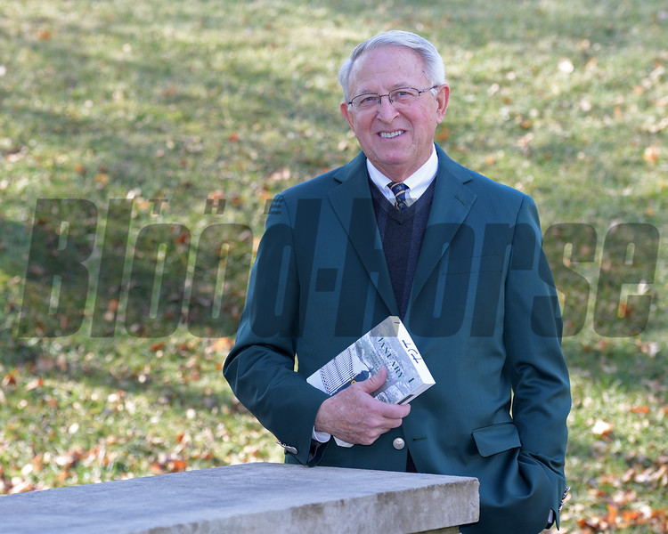 Tom Thornbury at Keeneland on Jan. 9, 2018.