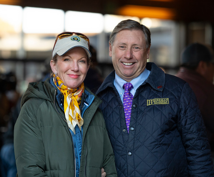 Tommy and Lisa Biederman<br /> Keeneland January Horses of all ages sales on<br /> Jan. 14, 2020 Keeneland in Lexington, KY.