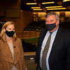 (L-R): Shannon Arvin and Geoffrey Russell<br /> Sales horses at the Keeneland November Sale at Keeneland in Lexington, Ky. on November 9, 2020.