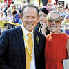 Barry and Sheryl Schwartz at the Breeders' Cup at Santa Anita Park.<br /> Photo by: Adam Coglianese