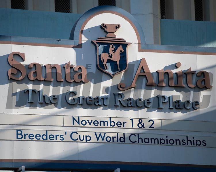 scene<br /> at  Oct. 28, 2019 Santa Anita in Arcadia, CA.