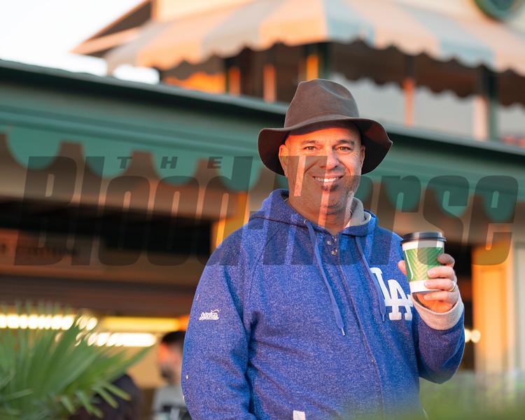 Peter Miller<br /> at  Oct. 31, 2019 Santa Anita in Arcadia, CA.
