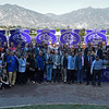 Connections of Obviously at Santa Anita on Nov. 5, 2016, in Arcadia, California.<br /> Anne M. Eberhardt