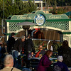Caption:  <br /> Scenes at Santa Anita  on Oct. 27, 2014, in preparation for Breeders' Cup  in California.<br /> 1Origs10_28_14 image<br /> Photo by Anne M. Eberhardt