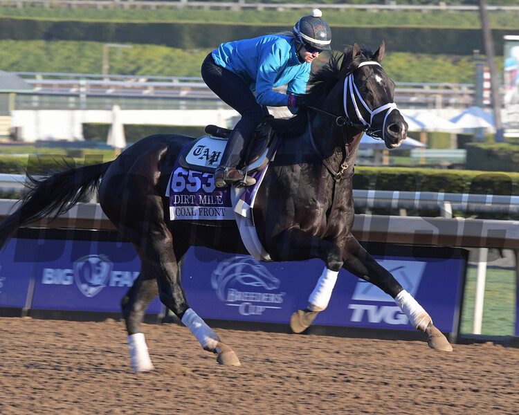 Coal Front<br /> at  Oct. 29, 2019 Santa Anita in Arcadia, CA.