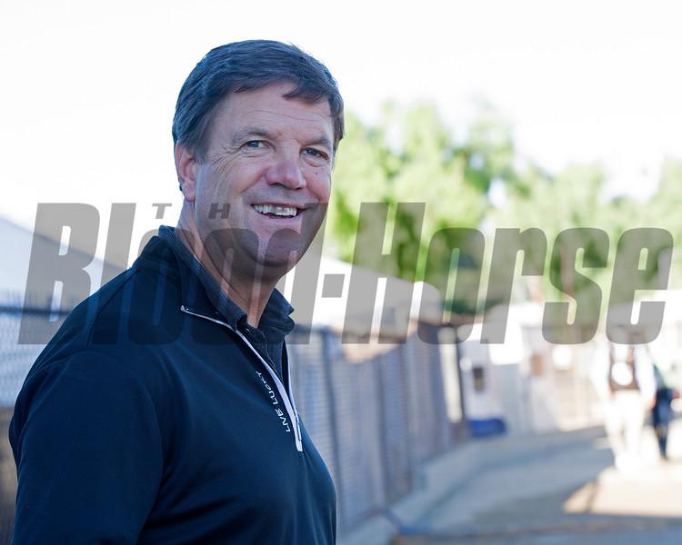 Graham Motion<br /> Morning scenes at Santa Anita in preparation for 2016 Breeders' Cup on Nov. 2, 2016, in Arcadia, CA.