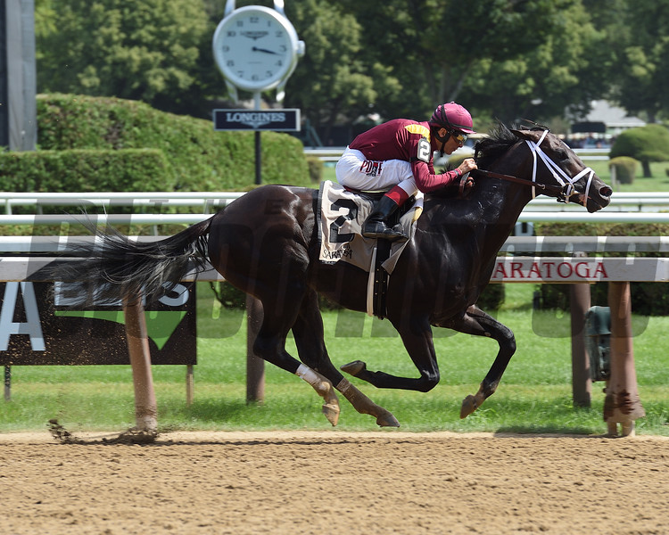 Amsterdam Stakes (G2) $200,000, Coal Front, John R. Velazquez, Todd A. Pletcher, Saratoga, July 29 2017