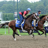 Jess's Dream gallops at Saratoga Race Course on August 4, 2014.<br /> Coglianese Photos/Adam Mooshian