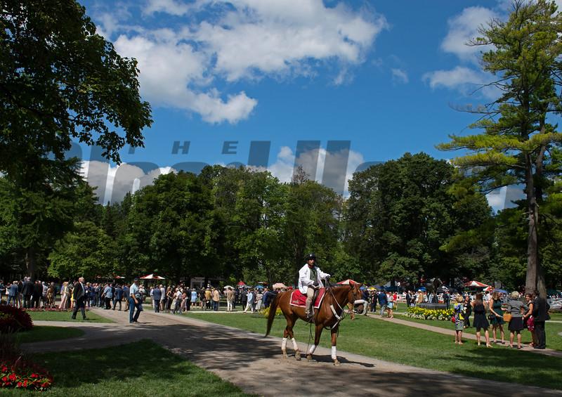 Saratoga Race Course in Saratoga Springs, New York, on Aug. 24, 2019.