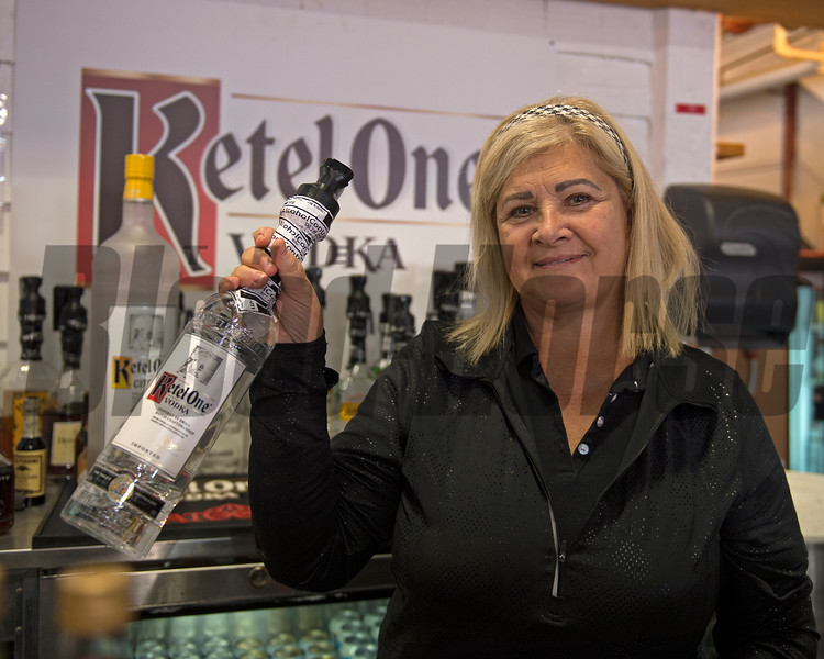 Caption: Race sponsor Ketel One at<br /> Saratoga racecourse in Saratoga Springs, N.Y. on Aug. 26, 2017<br /> Aug. 26, 2017 in Saratoga Springs, New York.