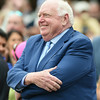 Tom Durkin's retirement ceremony following his final call at Saratoga.<br /> Coglianese Photos/Chelsea Durand