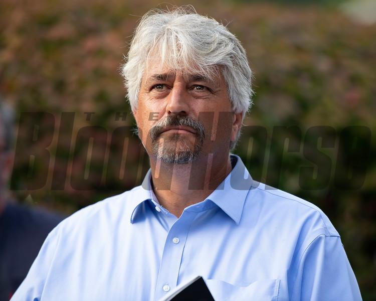 Steve Asmussen<br /> Sales scenes at Fasig-Tipton in Saratoga Springs, N.Y. on Aug. 9, 2021.