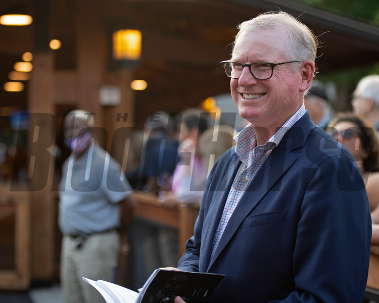 Bill Farish<br /> Sales scenes at Fasig-Tipton in Saratoga Springs, N.Y. on Aug. 9, 2021.