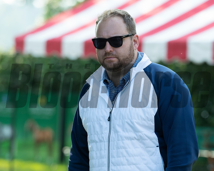 Clay Scherer<br /> Saratoga sales scenes at Fasig-Tipton in Saratoga Springs, N.Y. on Aug. 7, 2021.