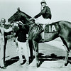 Buckpasser in Winner's Circle after victory in the Travers at Saratoga Race Track in 1966.<br /> Photo by: Coglianese Photos