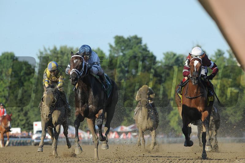 Stopchargingmaria wins the Shuvee Stakes August.<br /> Coglianese Photos