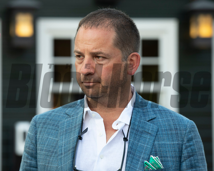 David Ingordo<br /> Sales scenes at Fasig-Tipton in Saratoga Springs, N.Y. on Aug. 9, 2021.