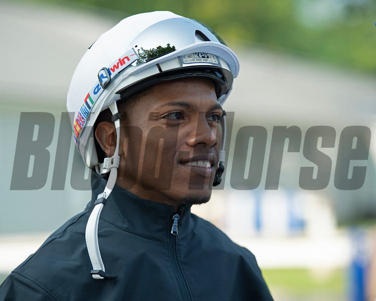 Ricardo Santana Jr.<br /> Saratoga training and sales scenes at Saratoga Oklahoma track and Fasig-Tipton in Saratoga Springs, N.Y. on Aug. 6, 2021.
