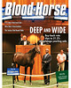 August 17, 2013 Issue 32 Cover of Blood-Horse featuring the 2013 Saratoga yearling sale<br /> © Blood-Horse