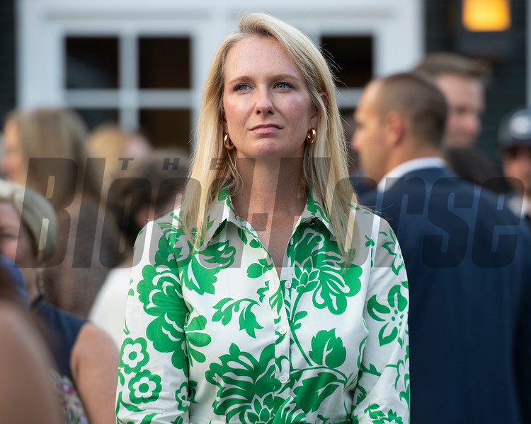 Allaire Ryan<br /> Sales scenes at Fasig-Tipton in Saratoga Springs, N.Y. on Aug. 9, 2021.
