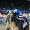 I Spent It wins the Saratoga Special 8/10/2014.<br /> Coglianese Photos/Adam Mooshian