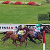 Viadera with Joel Rosario win the 33rd Running of The Ballston Spa at Saratoga on August 28, 2021. Photo By: Chad B. Harmon