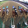 The start of the 150th Running of The Travers (GI) at Saratoga on August 24, 2019. Photo By: Chad B. Harmon