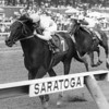 Housebuster wins the King Bishop Stakes Grade III at Saratoga on September 21, 1990.<br /> Photo by: Bob Coglianese / NYRA