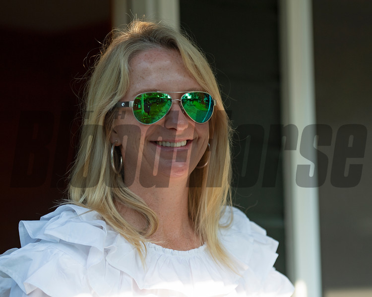 Allaire Ryan<br /> Saratoga sales scenes at Fasig-Tipton in Saratoga Springs, N.Y. on Aug. 7, 2021.