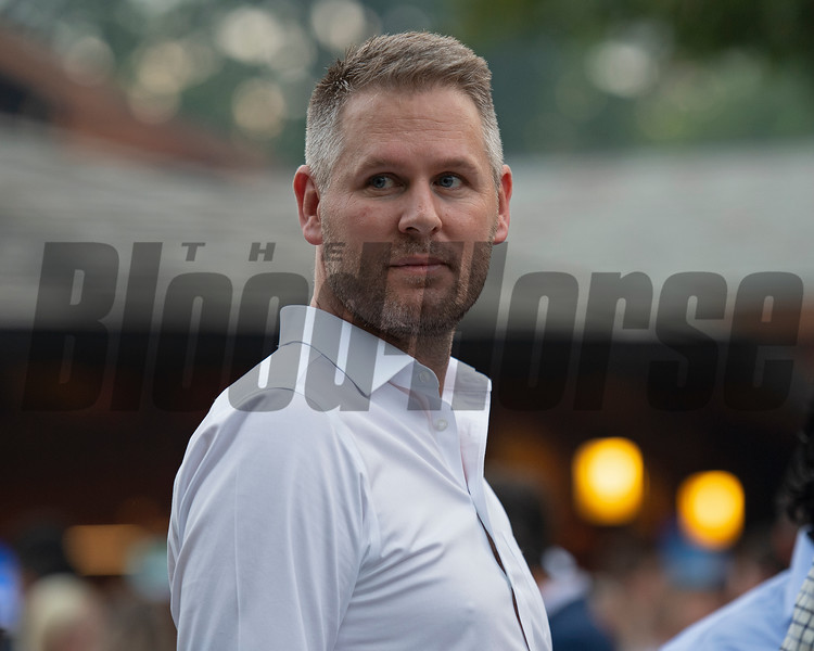 Michael Wallace<br /> Sales scenes at Fasig-Tipton in Saratoga Springs, N.Y. on Aug. 9, 2021.