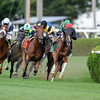 Main Sequence wins the Sword Dancer Stakes 8/17/2014.<br /> Coglianese Photos