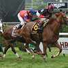 Irish Mission wins the Glenn Falls Handicap.<br /> Coglianese Photos