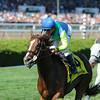 Dayatthespa wins the Yaddo Stakes at Saratoga 8/24/2014.<br /> Coglianese Photos/Adam Mooshian