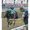 August 15, 2015 Issue 33 cover of the Blood-Horse featuring Honor Code winning the Whitney Stakes at Saratoga.