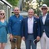 (L-R): Caroline Wilson, Ben Murphy, Gavin Murphy, and Tom Ryan<br /> Sales scenes at Fasig-Tipton in Saratoga Springs, N.Y. on Aug. 9, 2021.