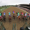 The start of the 74th Running of The Personal Ensign (GI) at Saratoga on August 28, 2021. Photo By: Chad B. Harmon