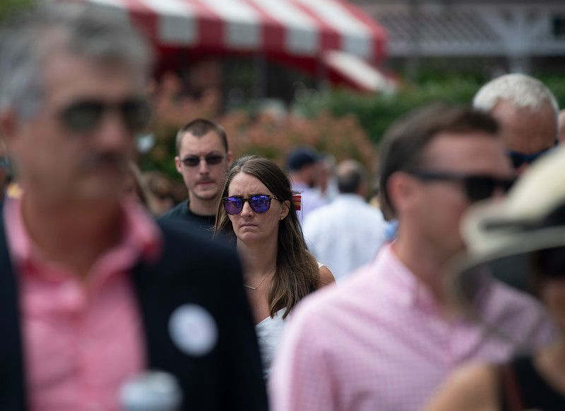 Scenes on Aug. 24, 2019 at Saratoga Race Course in Saratoga Springs, N.Y.