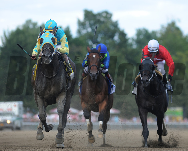 Justin Phillip proved his class Aug. 4 at Saratoga Race Course, taking the $400,000 Alfred G. Vanderbilt (gr. I).<br /> Coglianese Photos