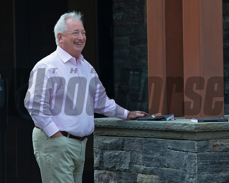 Boyd Browning<br /> Saratoga training and sales scenes at Saratoga Oklahoma track and Fasig-Tipton in Saratoga Springs, N.Y. on Aug. 6, 2021.