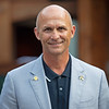 Terry Finley with West Point<br /> Sales scenes at Fasig-Tipton in Saratoga Springs, N.Y. on Aug. 10, 2021.