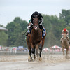 R Free Roll wins the Honorable Miss Handicap at Saratoga July 28. 2014.<br /> Coglianese Photos/Adam Mooshian