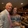(L-R): Randy Bradshaw with his daughter Ashley Bradshaw Franz<br /> Sales scenes at Fasig-Tipton in Saratoga Springs, N.Y. on Aug. 10, 2021.