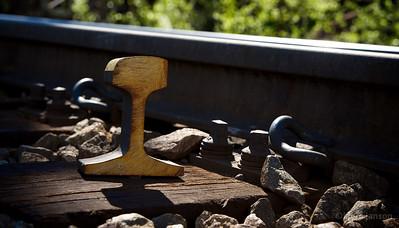 Track & sleepe ,  Ofotbanen, 2012-06-29.  Photo: Kjetil Janson