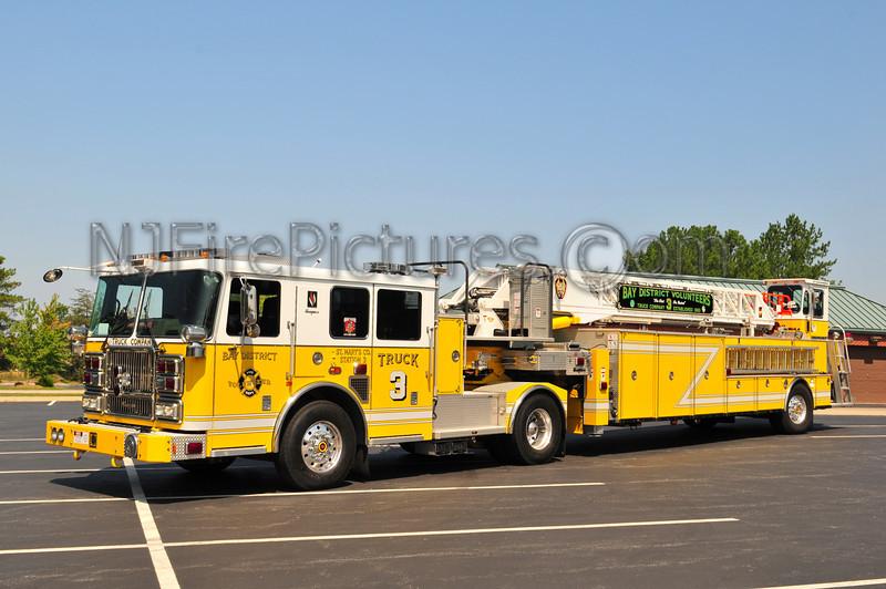 LEXINGTON PARK,MD (BAY DISTRICT FIRE DEPT) TRUCK 3