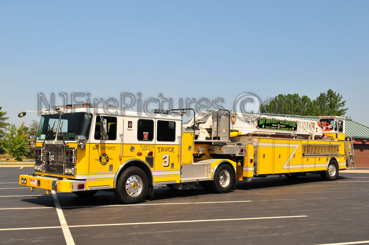 LEXINGTON PARK,MD (BAY DISTRICT FIRE DEPT) TRUCK 3