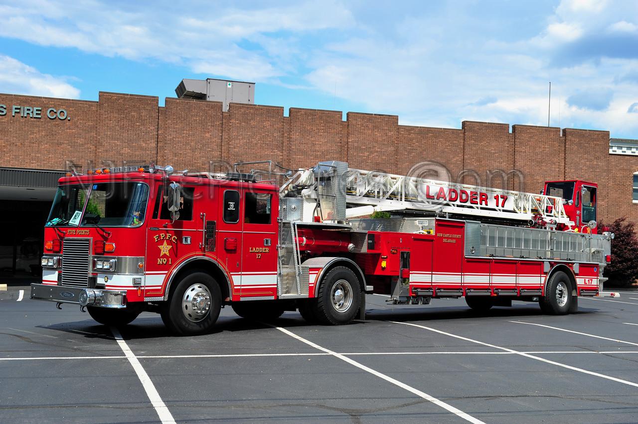 WILMINGTON, DE FIVE POINTS FIRE CO. LADDER 17