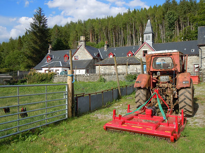 Tractors in Scotland