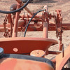 Allis-Chalmers G unrest cultivator rear