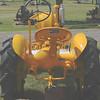 JD LI garden tractor rear